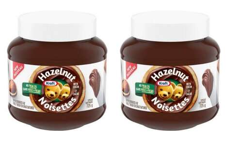 Palm Oil-Free Hazelnut Spreads