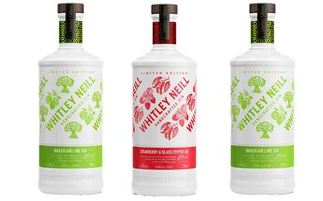 Unexpectedly Flavored Artisan Gins