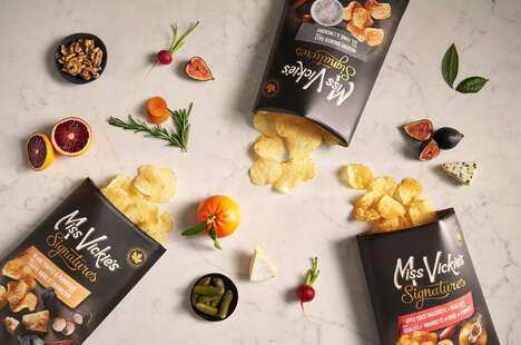 Gourmet-Inspired Kettle Cooked Chips
