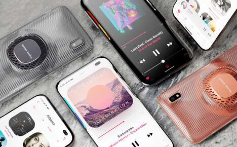 Speaker-Equipped Smartphone Concepts