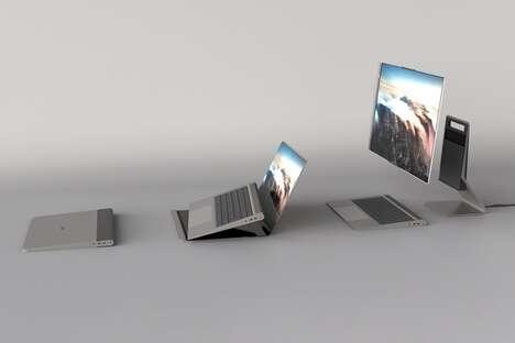 Transforming Laptop PC Units