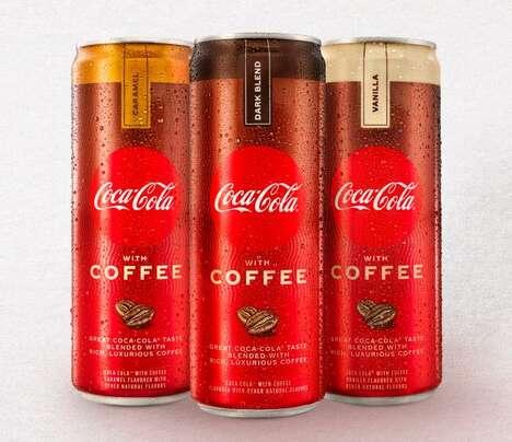 Brazilian Coffee-Infused Sodas