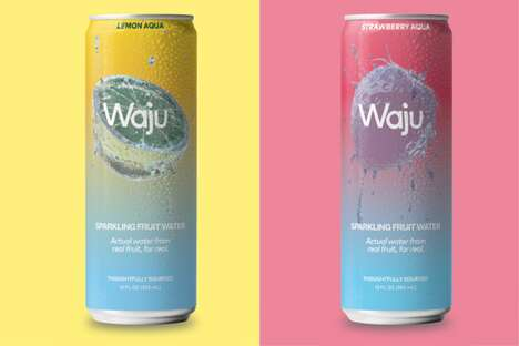 Fruit-Squeezed Water Beverages