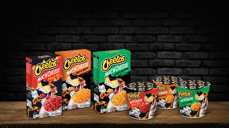 Snack-Inspired Macaroni Meals - Cheetos Mac 'n Cheese Appeals to Snackers Who Love Cheesy Flavors