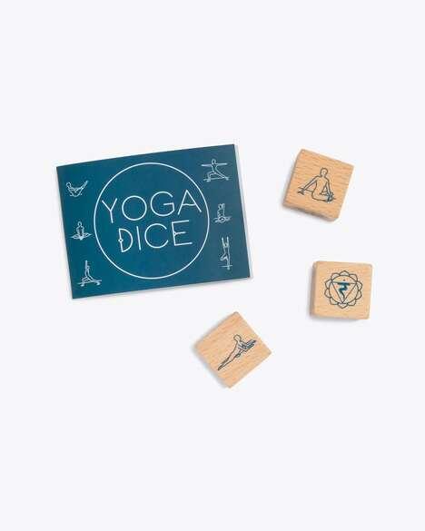 Illustrated Yoga Pose Blocks