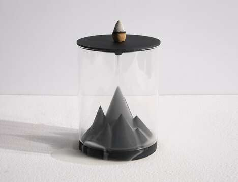 Terrarium-Like Incense Burners