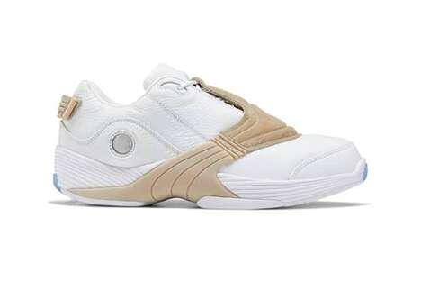 Oatmeal-Inspired Tonal Sneakers