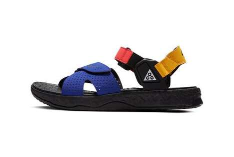Mountain-Themed Sporty Sandal