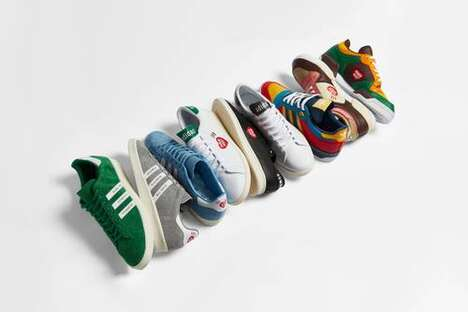 Expansive Colorful Sneaker Packs