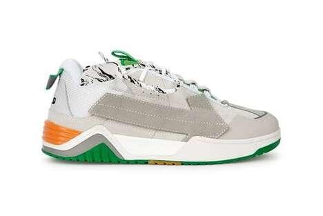 Supple Suede Sneaker Models