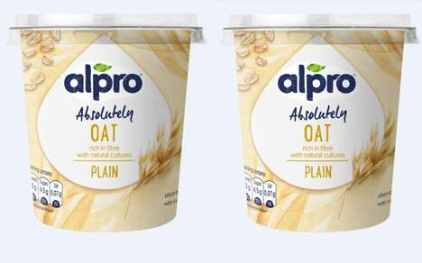 Fiber-Rich Oat Yogurts