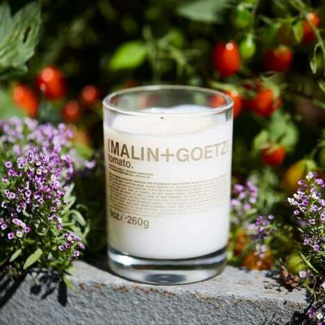 Scented Tomato Candles - MALIN+GOETZ's Candle Captures the Essence of Homegrown Tomatoes