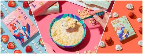 Nostalgic High-Protein Cereals