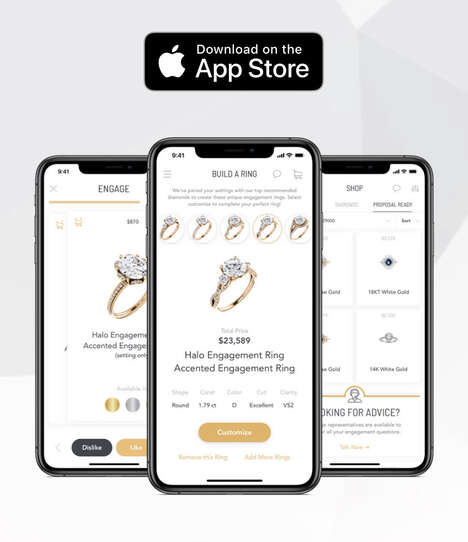 AI Ring-Buying Apps - Engage Shares a New Way to Discover and Shop Wedding & Engagement Rings