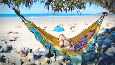 Three-in-One Travel Hammocks