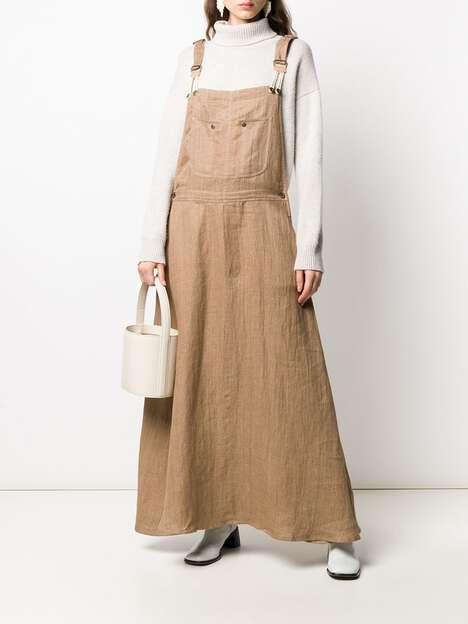 Village-Inspired Linen Dresses