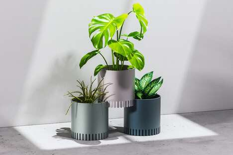 Modular Stackable Plant Containers