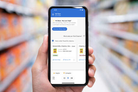 Employee Voice Assistants - Walmart's Ask Sam Lets Employees Look Up Prices, Find Products & More