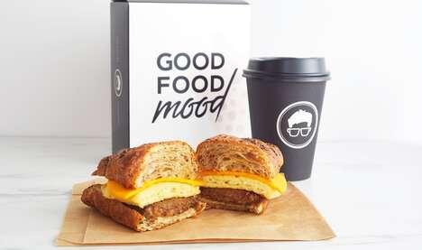 Vegan Breakfast Sandwiches - Gregorys Coffee's Vegan Deluxe Breakfast Sandwich is All Plant-Based