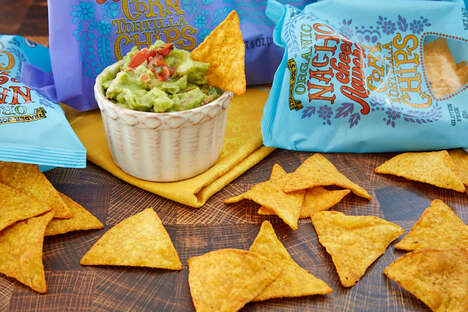 "Nacho-Flavored Tortilla Chips - Trader Joe's New Tortilla Chips are an ""Edible Ode to Nacho Cheese"""