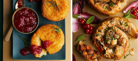 Baked Vegan Cheeses - Waitrose's Breaded Vegan Baking Melts Have a Melting Coconut-Based Filling