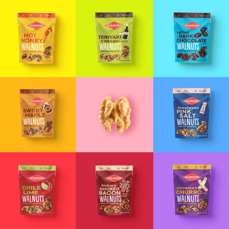 Flavored Walnut Snacks