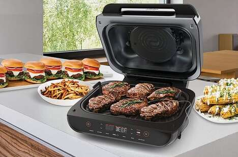 Six-in-One Countertop Grills