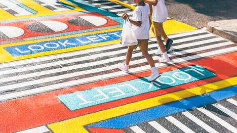Colorful Street Art Installations