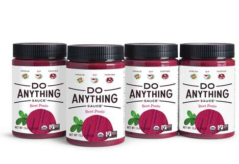 Artisan Beet Pesto Sauces