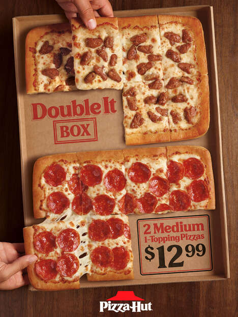 Two-in-One Pizza Boxes
