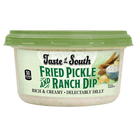 Pickle-Flavored Ranch Dips