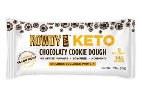 Keto-Friendly Prebiotic Bars