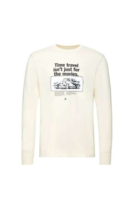 Vintage Car-Inspired Apparel