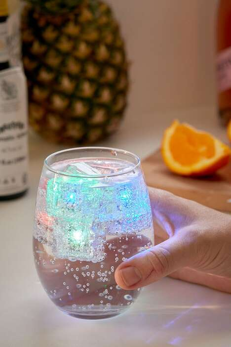 Color-Changing Drink Lights