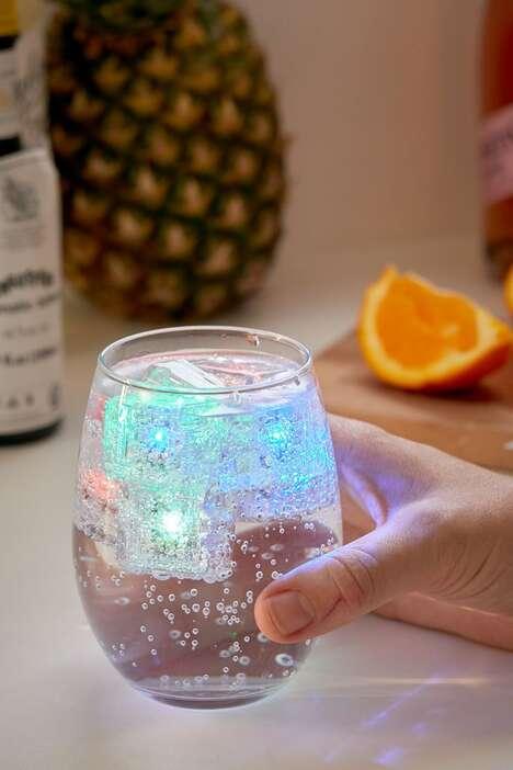 Color-Changing Drink Lights