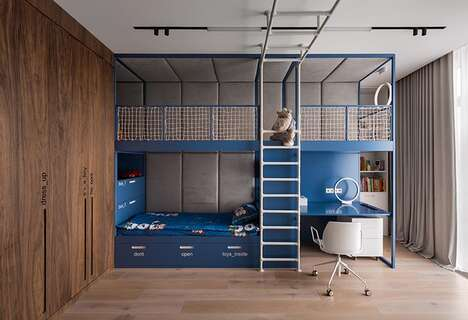 Playful All-in-One Bedroom Units