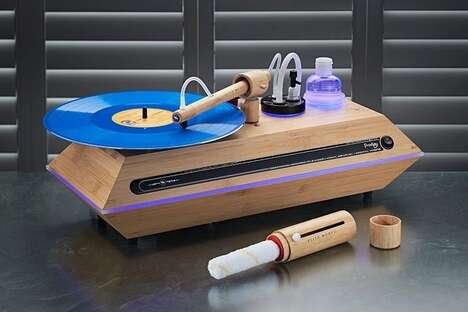 Pro-Grade Vinyl Record Cleaners