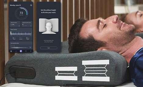 AI-Powered Anti-Snoring Pillows