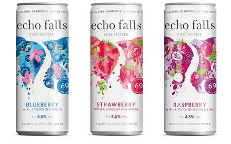 Refreshing Wine-Paired Seltzer Cocktails