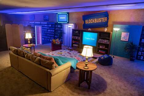 Video Rental Store Sleepovers