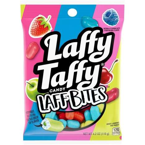 Candy-Coated Taffy Bites