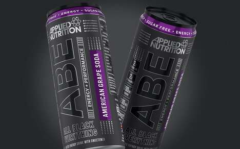Carbonated Pre-Workout Energy Drinks