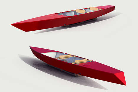 Foldable Two-Seater Kayaks