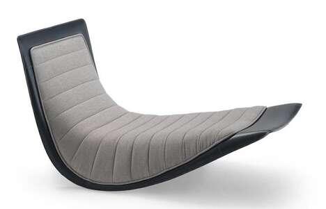 Elegant Legless Lounge Chairs