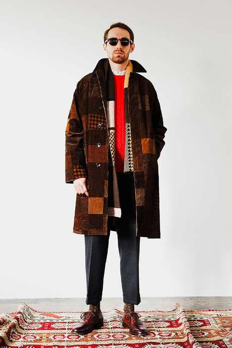 Elevated Patterned Fall Fashions
