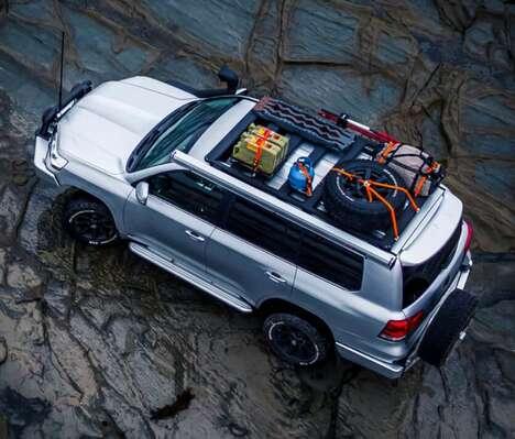 Low-Profile Vehicle Roof Racks
