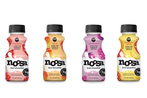Drinkable Yogurt Smoothies