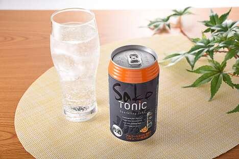 Sparkling Sake Tonics