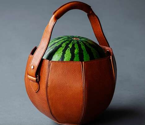 Leather Watermelon Bags