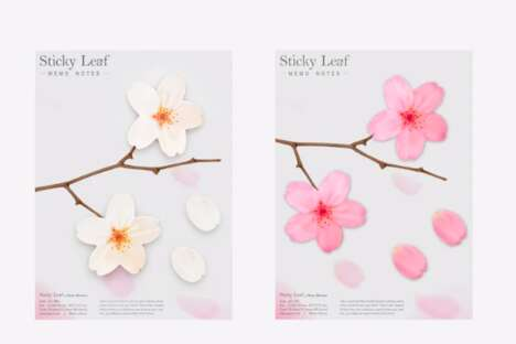 Floral Sticky Notes